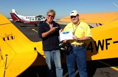 Flight Training in a Legend Cub - Legend Aircraft
